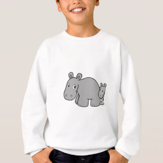 Sweatshirt Hippopotames