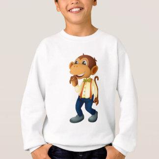 Sweatshirt Homme-comme le singe