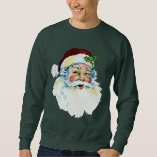 Sweatshirt Hommes principaux de vacances de Père Noël de Noël