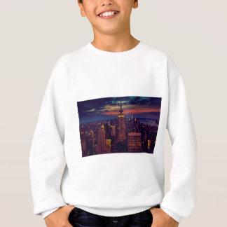 Sweatshirt Horizon de crépuscule de New York City