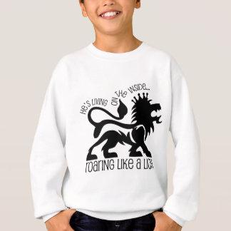 Sweatshirt Hurlement comme un lion