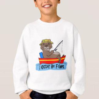 Sweatshirt I la loutre pêche