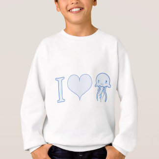 Sweatshirt I méduses de coeur