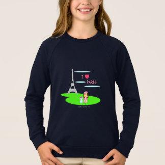 Sweatshirt I Paris love