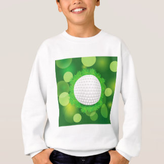 Sweatshirt icône de boule de golf