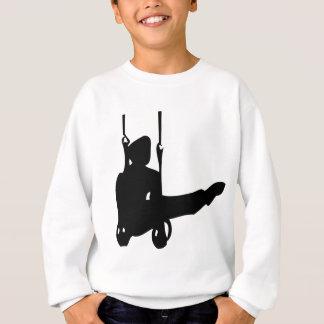 Sweatshirt icône noire de gymnaste