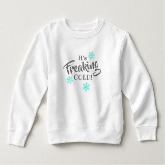 Sweatshirt Il Freaking les enfants drôles froids