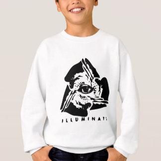 Sweatshirt Illuminati tout l'oeil voyant