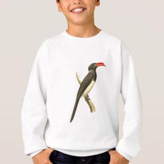 Sweatshirt Illustration d'oiseau de calao de Coronated