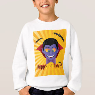 Sweatshirt Illustration heureuse de Dracula de compte de