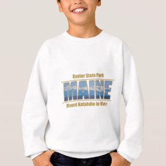 Sweatshirt Image des textes du MAINE - bâti Katahdin