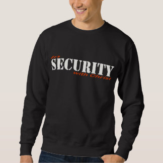 Sweatshirt In security with Christ 2 Rouge Blanc