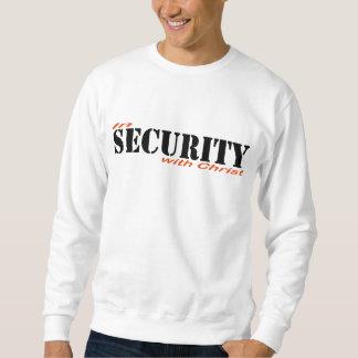 Sweatshirt In security with Christ 2 Rouge Noir