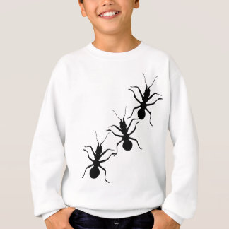 Sweatshirt Insectes noirs Crawly déplaisants de fourmis