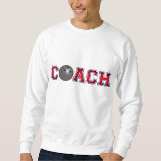 Sweatshirt Insignes gentils de bowling d'entraîneur