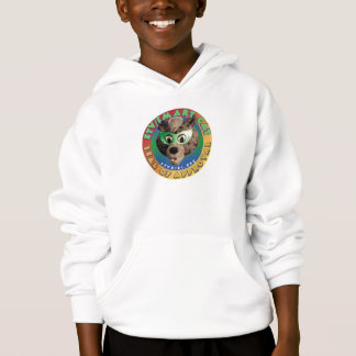 Sweatshirt intelligent de label de chat d'ETV