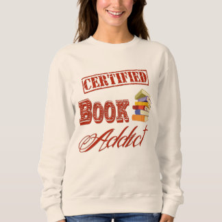 Sweatshirt Intoxiqué de livre