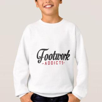 Sweatshirt Intoxiqués de travail de jambes