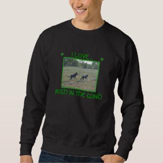 Sweatshirt irish, irlandais, irlandais, I LOVE ..., IRISH ...