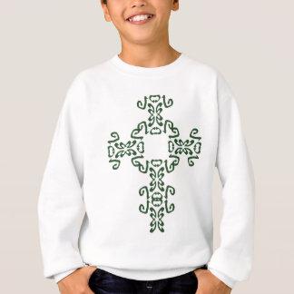 Sweatshirt irlandais vert de sweat - shirt à