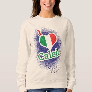 Sweatshirt italien du football de Calcio du