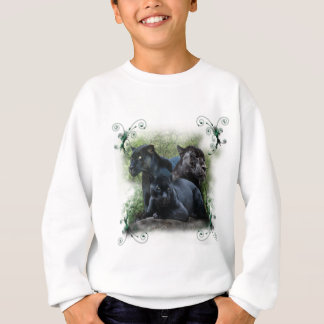 Sweatshirt Jaguar noir