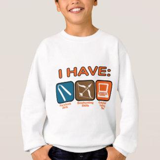 Sweatshirt J'ai des qualifications Napoleon Dynamite