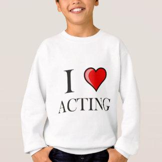 Sweatshirt J'aime agir