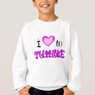 Sweatshirt J'aime dégringoler