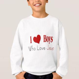 Sweatshirt J'aime des garçons