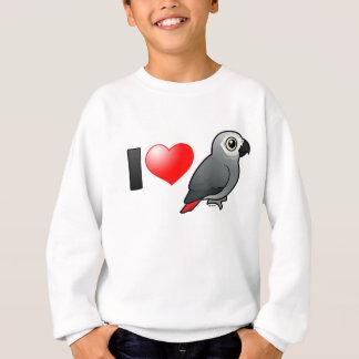Sweatshirt J'aime des gris de l'Afrique