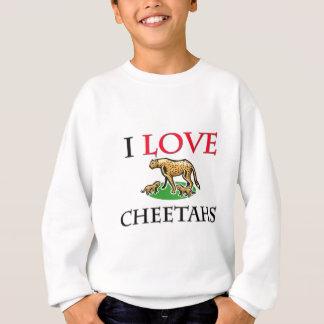 Sweatshirt J'aime des guépards