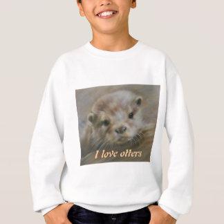 Sweatshirt J'aime des loutres