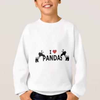 Sweatshirt J'aime des pandas