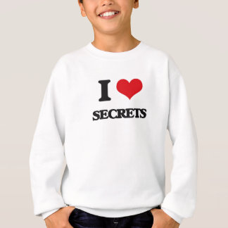 Sweatshirt J'aime des secrets
