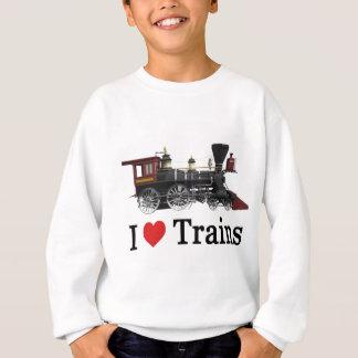 Sweatshirt J'aime des trains