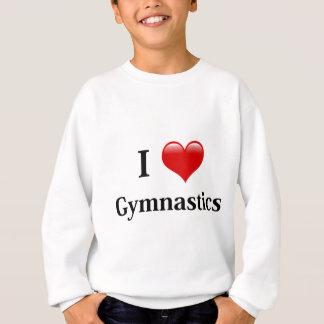 Sweatshirt J'aime la gymnastique