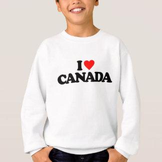 SWEATSHIRT J'AIME LE CANADA