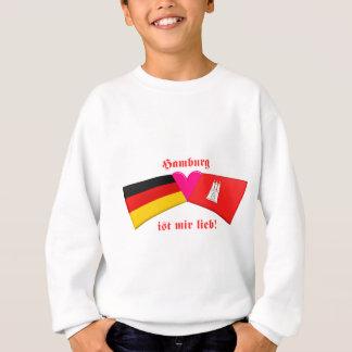 Sweatshirt J'aime le lieb de MIR d'IST de Hambourg