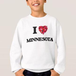Sweatshirt J'aime le Minnesota