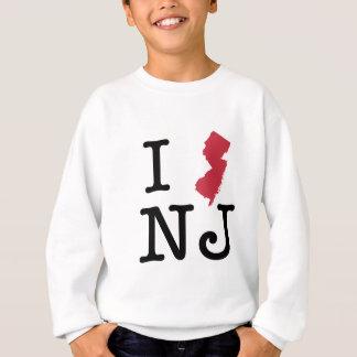 Sweatshirt J'aime le New Jersey
