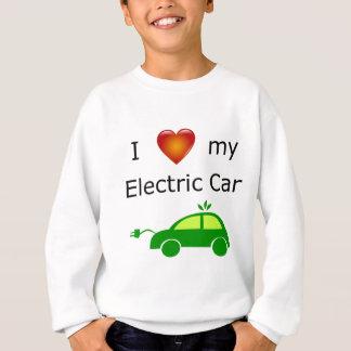 Sweatshirt J'aime ma voiture électrique