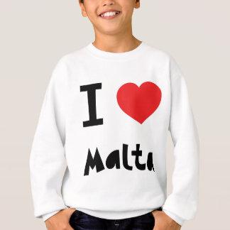 Sweatshirt J'aime Malte