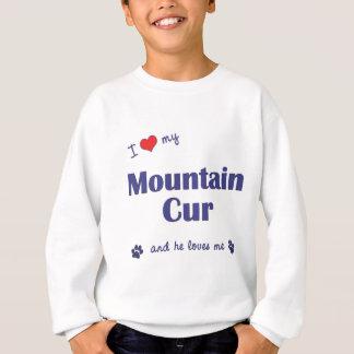 Sweatshirt J'aime mon cabot de montagne (le chien masculin)