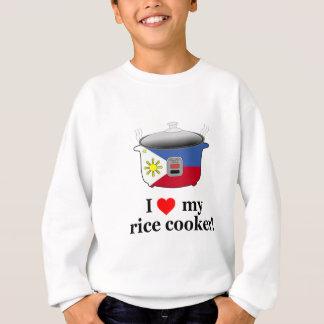 Sweatshirt J'aime mon cuiseur de riz
