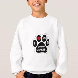 Sweatshirt J'aime mon épagneul de Boykin