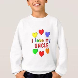 Sweatshirt J'aime mon oncle