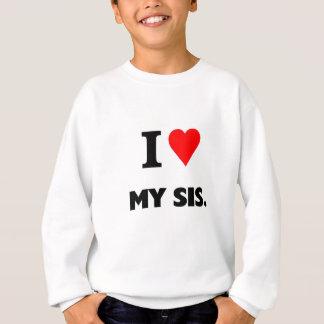 Sweatshirt J'aime mon SIS