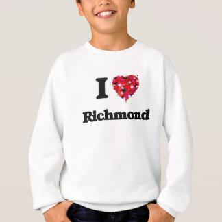 Sweatshirt J'aime Richmond la Virginie