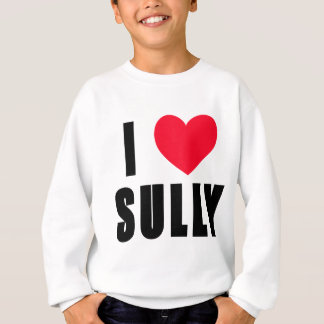 Sweatshirt J'aime salis le COEUR d'I salis